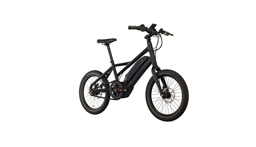 """Winora radius plain E-citybike 20"""" 400Wh sort"""